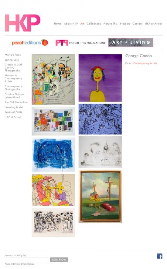Hamburg Kennedy Photographs website artist gallery page