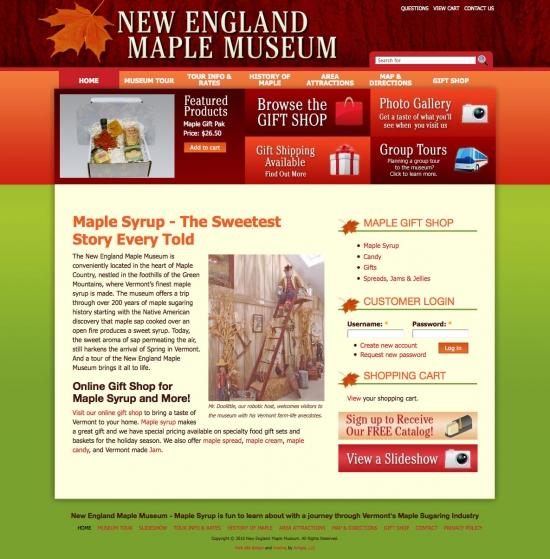 NEMM ecommerce website