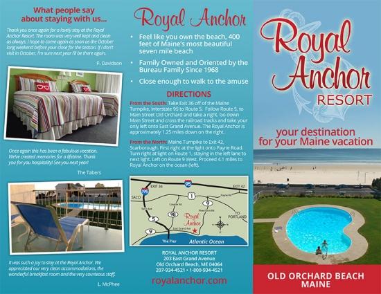 Royal Anchor Resort Brochure outside