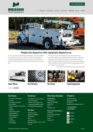 messer truck equipment