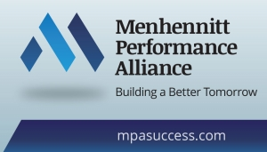 Mehhennit Performance Alliance Business Card front