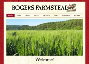 Rodgers Farmstead website design